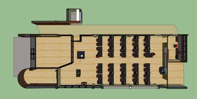 Proposed New Floor Plan