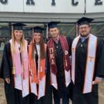Group of UT Graduates gather for picture