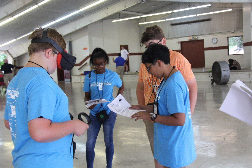 Students participate in Electric Camp