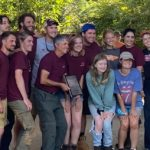 Virginia Tech, the winning team of 2021 Southeastern (SE) Collegiate Soils Contest, poses for picture